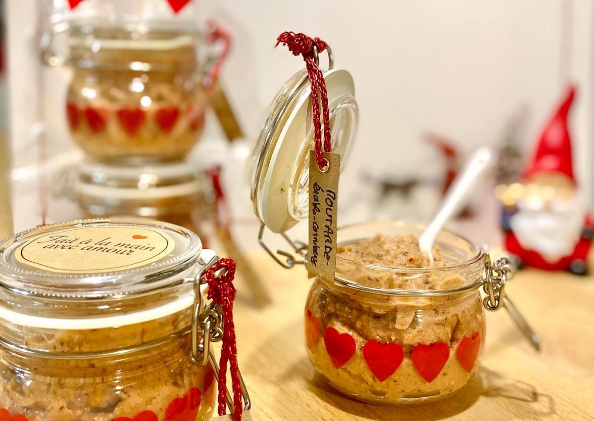 Moutarde érable canneberges et ses variantes