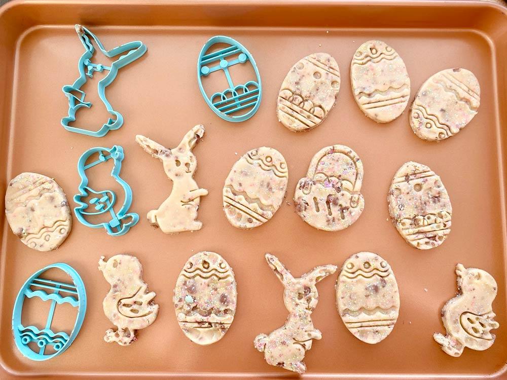 Sablés de Pâques aux « Mini Eggs »