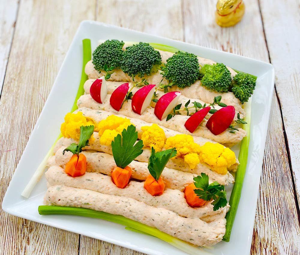 <i class='fas fa-user-lock' aria-hidden='true'></i> Le potager gourmand (Trempette aux 2 saumons)