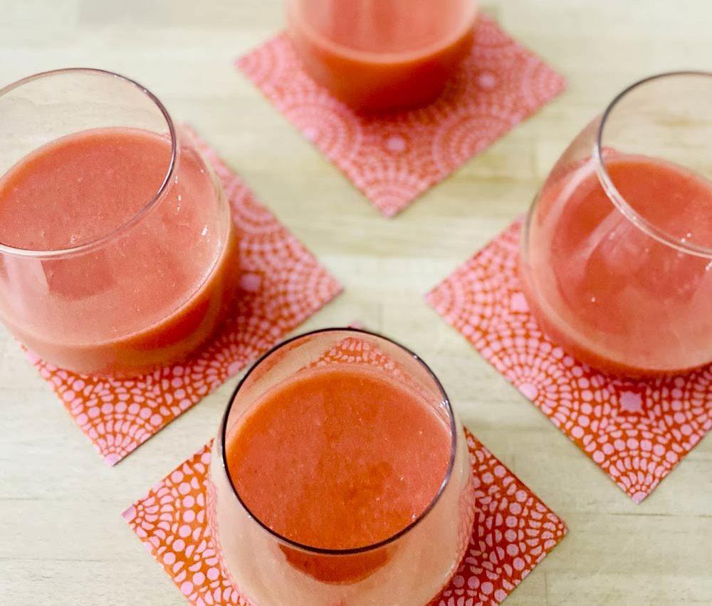 Bar à jus : Jus de fruits frais