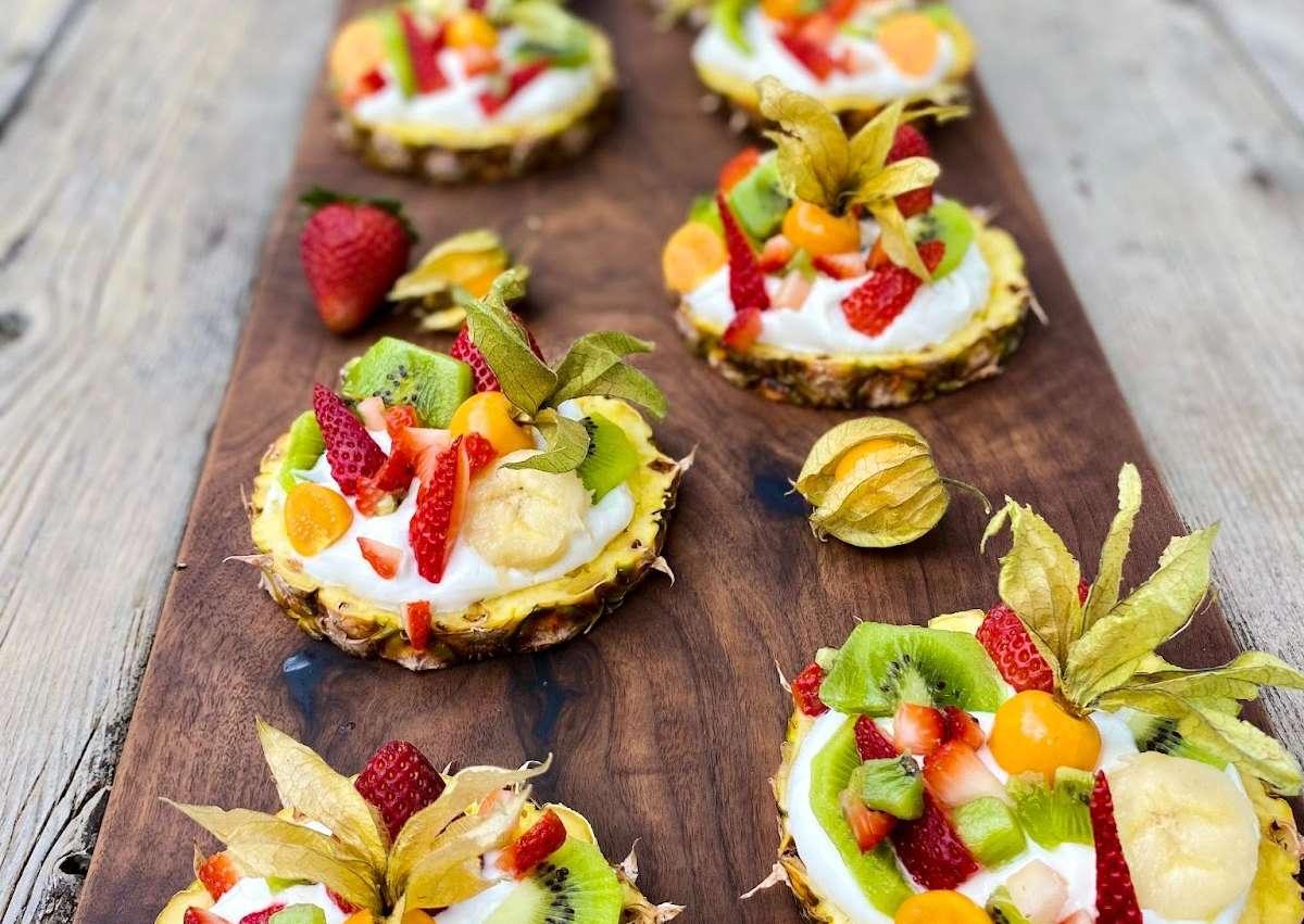 Tartelettes « raisonnables » aux fruits